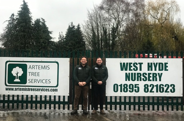 Simon and Aaron from Artemis Tree Services